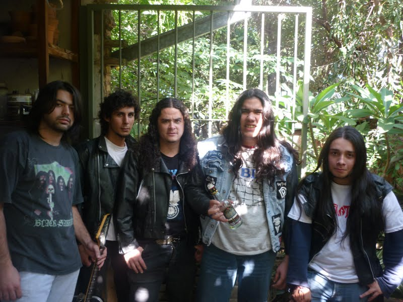Metallers Global World Metal - Paraguay - The Axe