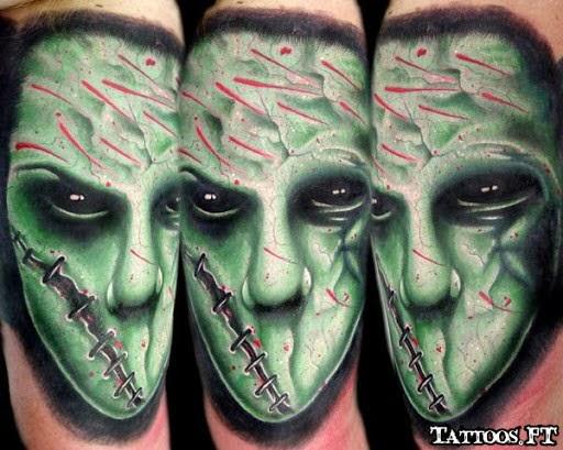 Monster Tattoos Best - alien monster