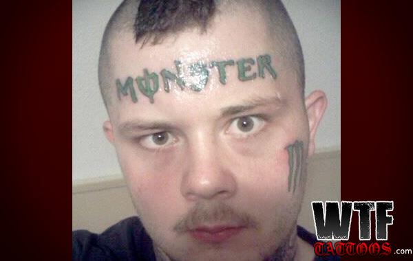 Monster Tattoos Best - energy drink nutter