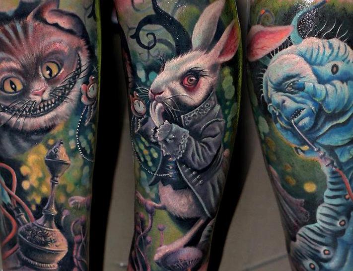 Monster Tattoos Best - evil alice