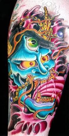 Monster Tattoos Best - japanese monster