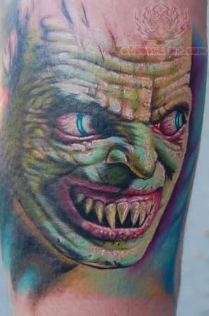 Monster Tattoos Best - ugly monster
