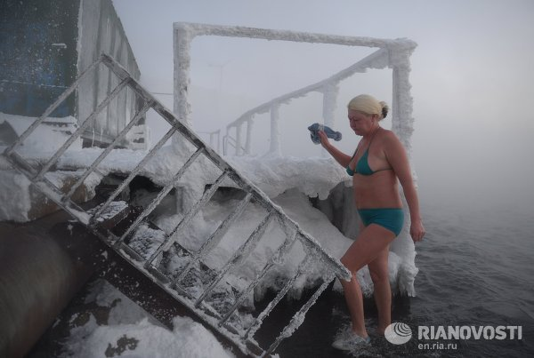 Norilsk - Ice Swimming 2