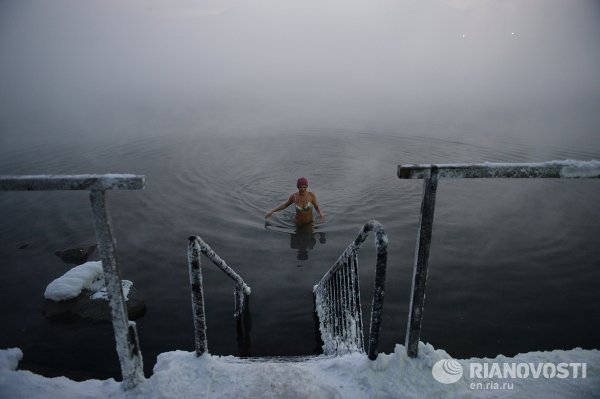 Norilsk - Ice Swimming
