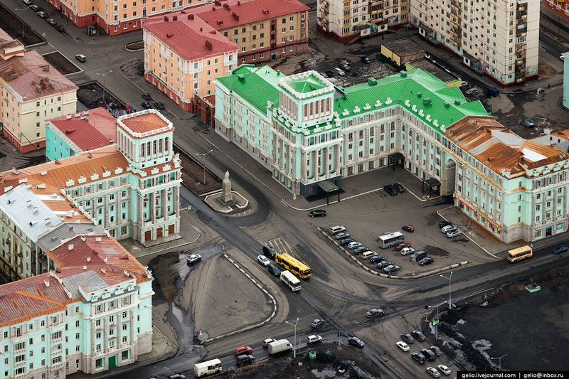 Norilsk - Russia from the air 3