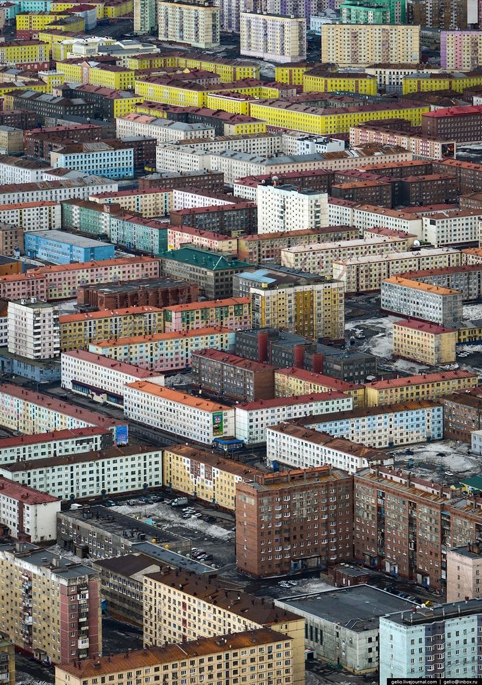 Norilsk - Russia from the air