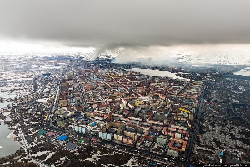 Norilsk - big northerly city