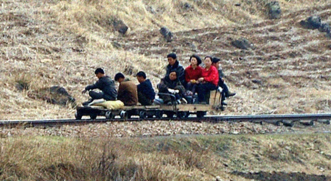 North Korea Toture Rail 3