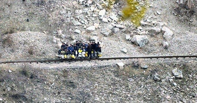 North Korea Toture Rail