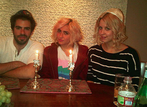 Peaches Geldof celebrates Jewish holiday