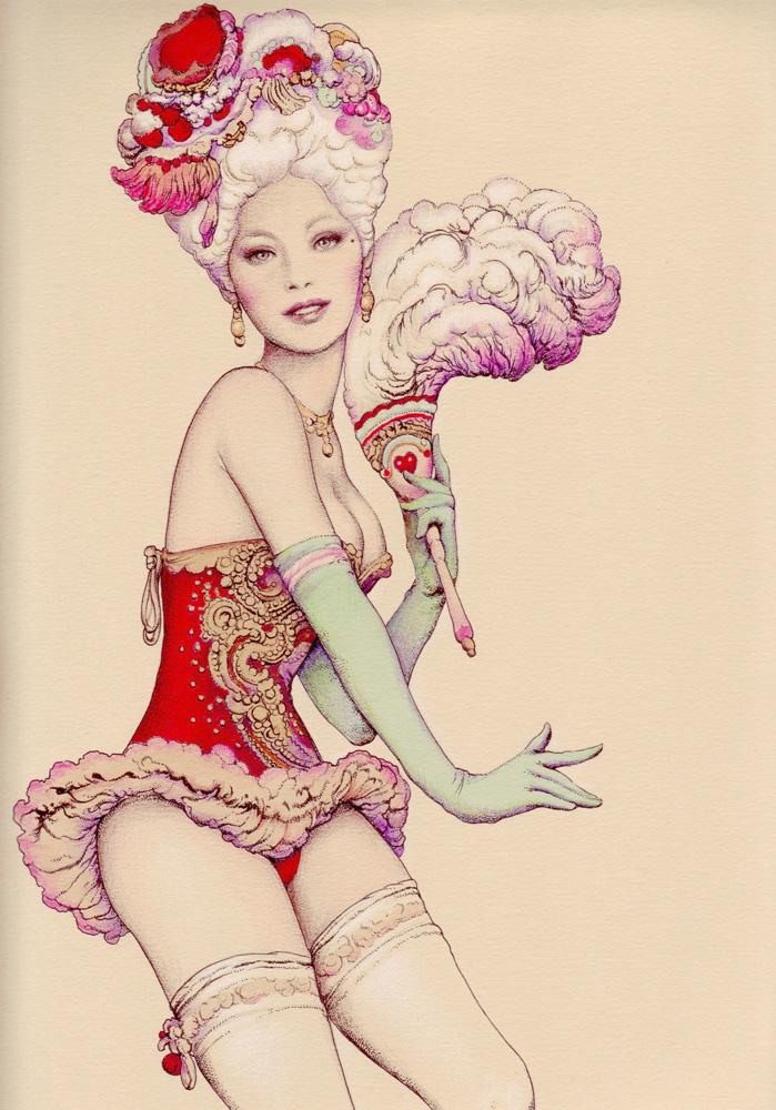 Vania Zouravliov - Girl colour