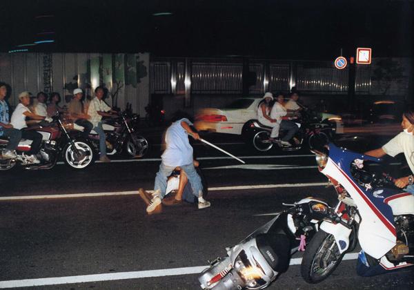 Bosozoku bikes Japan - Gangs Yakusa