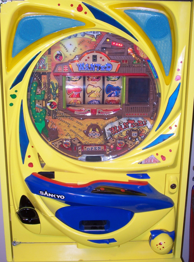 Pachinko Gambling Japan early 2000