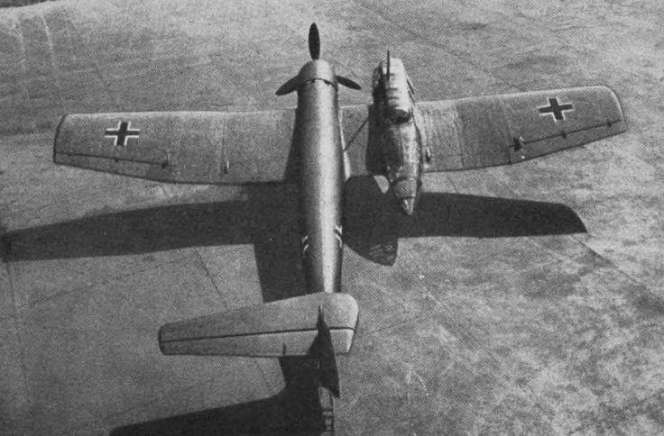 German Prototype Planes The Blohm & Voss BV 141