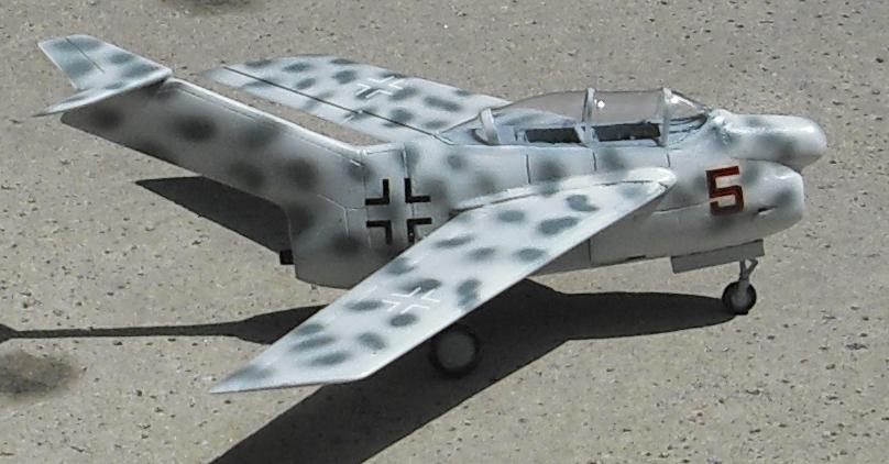 German Prototypes Focke-Wulf Ta 183 (Huckebein) Jet-Powered Fighter (1945)
