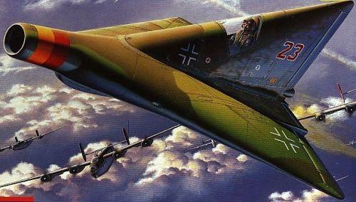 German Prototypes Lippisch P.13A Interceptor (1944)