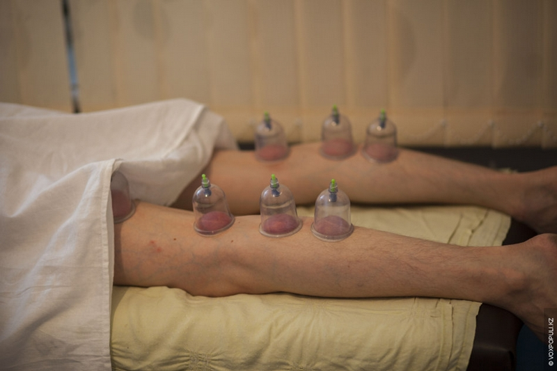 Kazakhstan Alternative medicine - pump leg