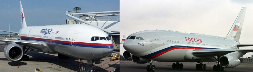 MH17 Conspiracy - Putin's plane and MH17