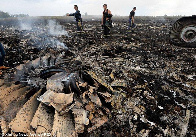 MH17 Conspiracy - crash