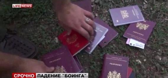 MH17 Conspiracy - prisine passports