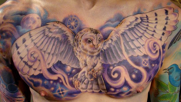 Owl Tattoos Best Of The Best Lazer Horse