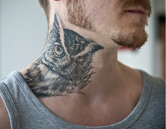 Owl Tattoos: Best of the Best • Lazer Horse