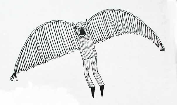 Owlman Cornwal Mawnan