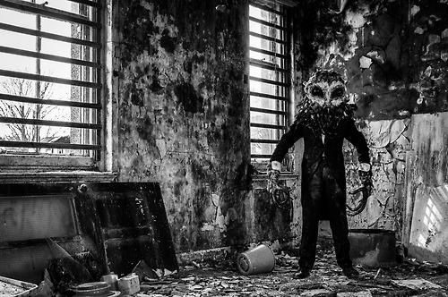 Owlman Mawnan Stage Fright