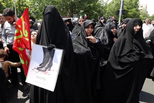 Pro Hijab Protest