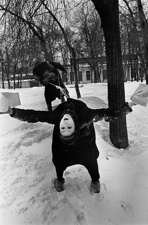 Russian Art - 90s - mime contortion
