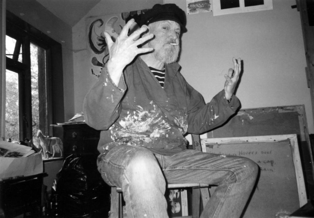 Tony Doc Shiels - painter
