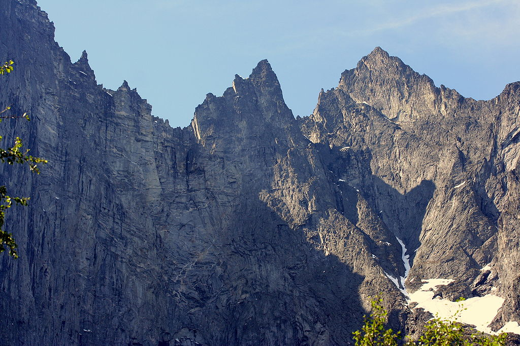 Troll Wall Norway - climbers