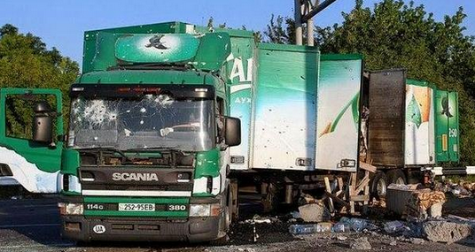 Awesome Photos From Russia With Love - destroyed lorry