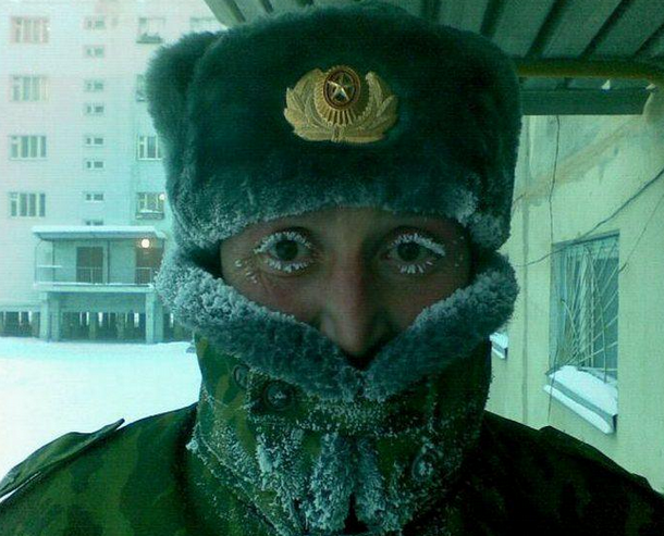 Awesome Photos From Russia With Love - frozen eyelashes