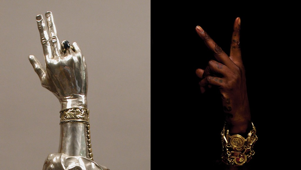 B4-XVI - Reliquary arm of St. Valentine 2 chainz
