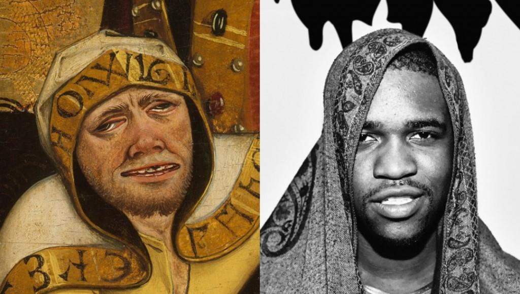 B4-XVI - The Martyrdom of Saint Lawrence ASAP Ferg