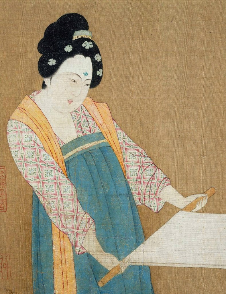 Emperor Huizong - A woman of Song Dynasty