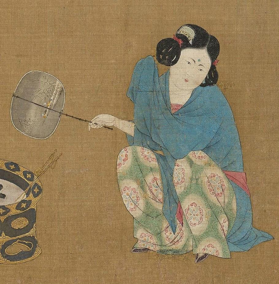 Emperor Huizong - Lady