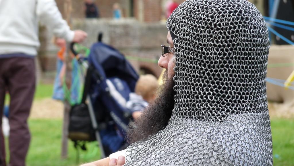 Herstmonceux Medieval Festival - beard buggy