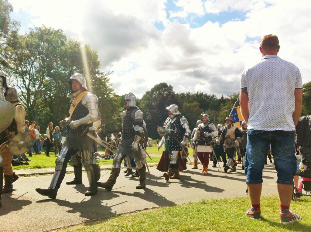 Herstmonceux Medieval Festival - chav parade