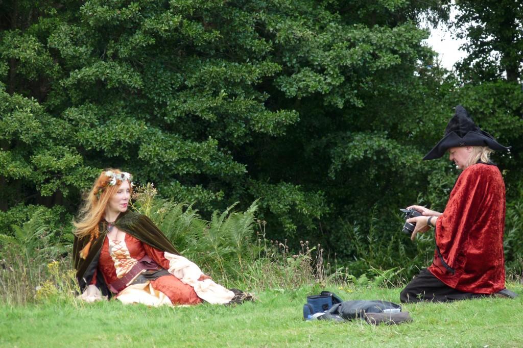 Herstmonceux Medieval Festival - poser