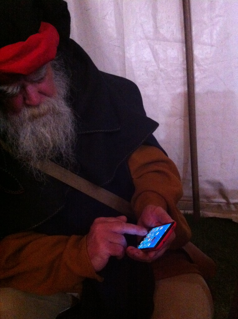 Herstmonceux Medieval Festival - story teller