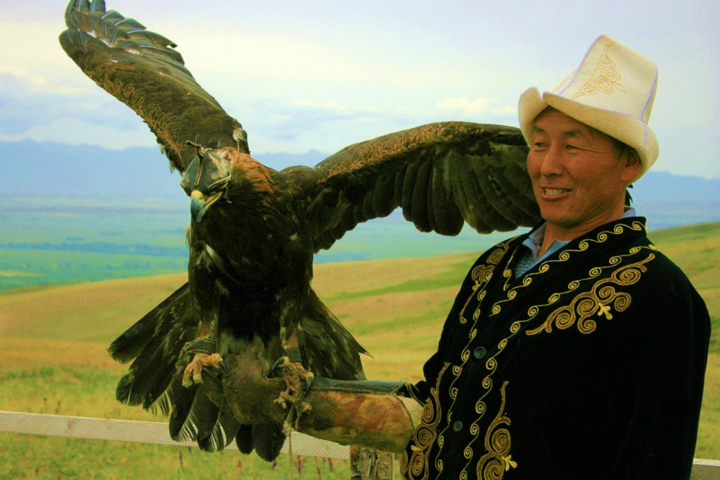 Kyrgyzstan - People - falconry