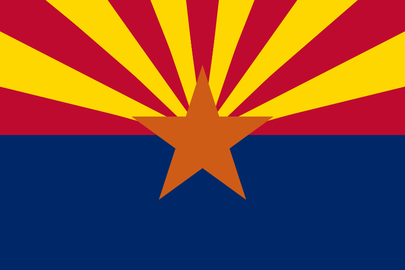 USA State Flags Best - Arizona