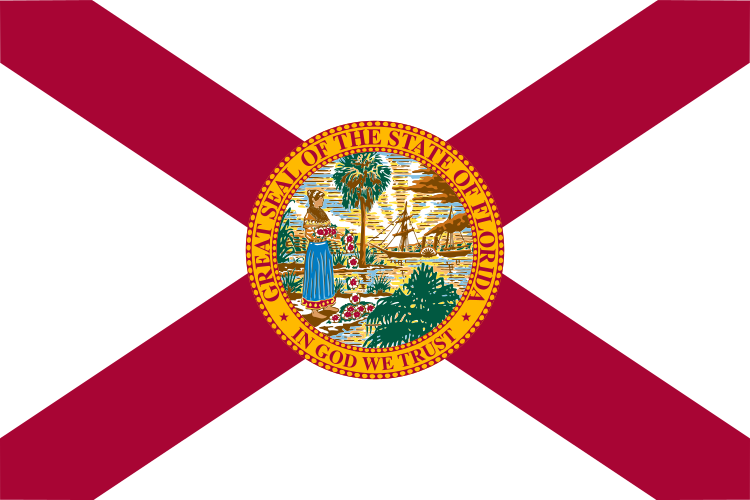 USA State Flags Best - Florida