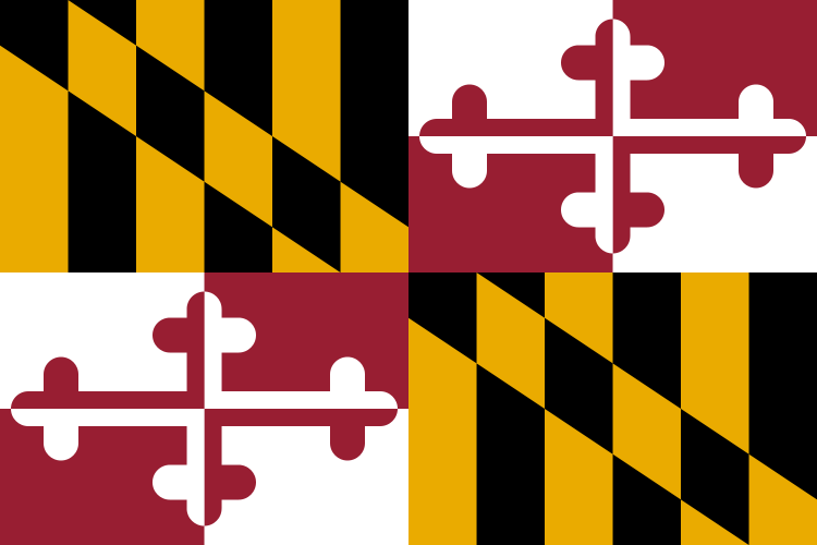 USA State Flags Best - Maryland