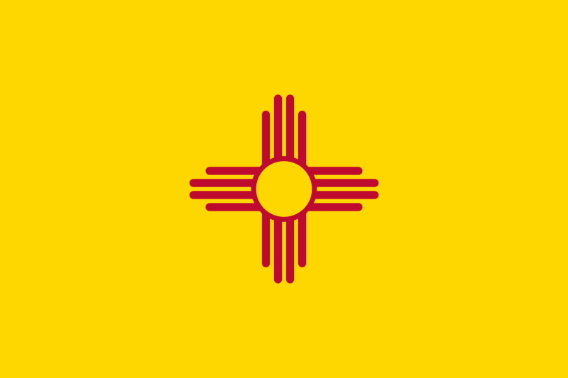 USA State Flags Best - New Mexico