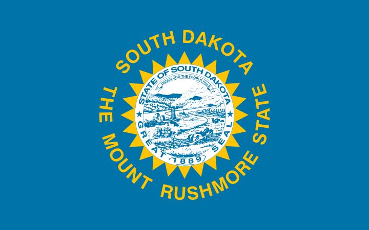 USA State Flags Best - South Dakota