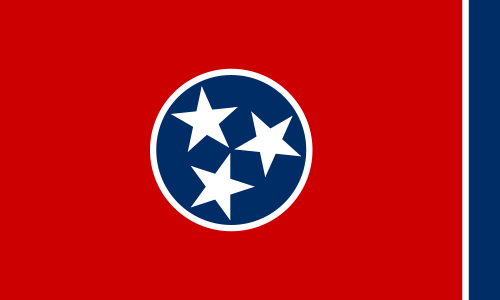 USA State Flags Best - Tennessee