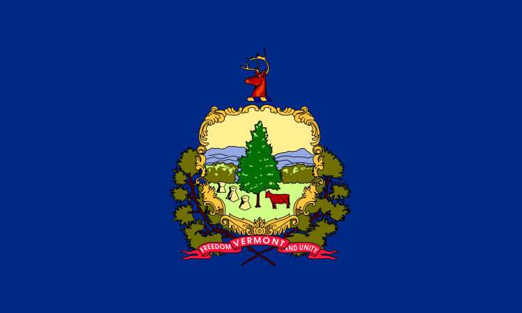 USA State Flags Best - Vermont